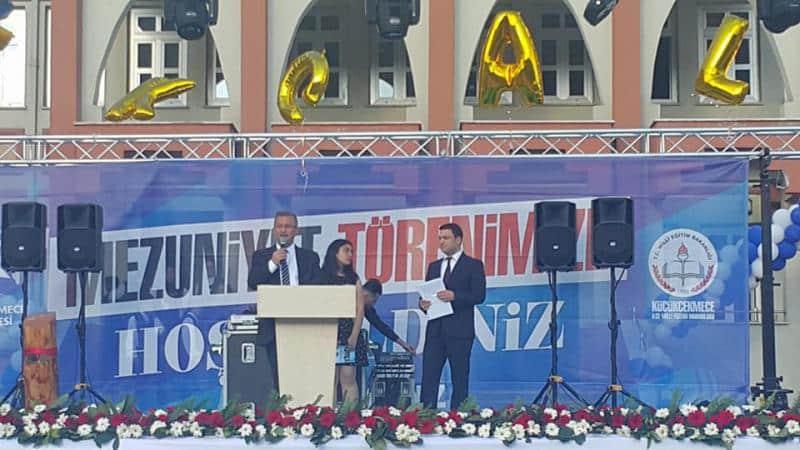 Fahreddin Kerim Gökay Anadolu Lisesi 24.Dönem Mezuniyet Töreni
