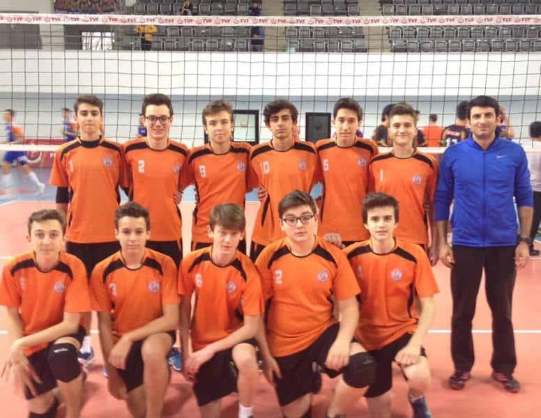 Voleybol Genç Erkekler B Takımımız İstanbul 4. olmuştur.