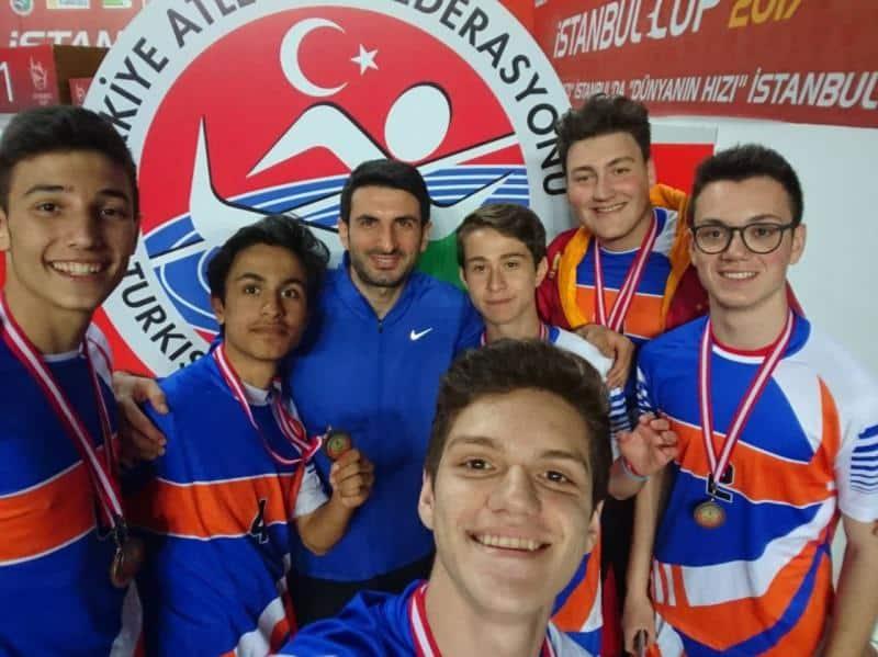 Atletizm Takımımız İlçe 3. olmuştur.