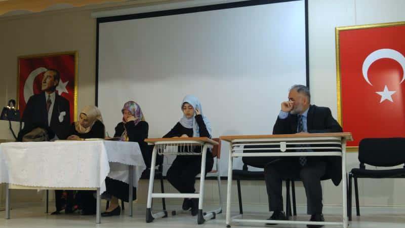 Kuran-ı Kerimi Güzel Okuma Yarışması okulumuzda gerçekleşmiştir.