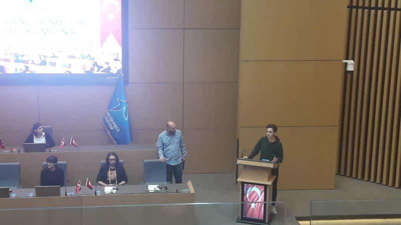 Öğrencimiz Cihan BAYINDIR Küçükçekmece Belediyesi Lise Gençlik Meclisi Başkanlığına seçilmiştir, kendisini kutluyoruz.