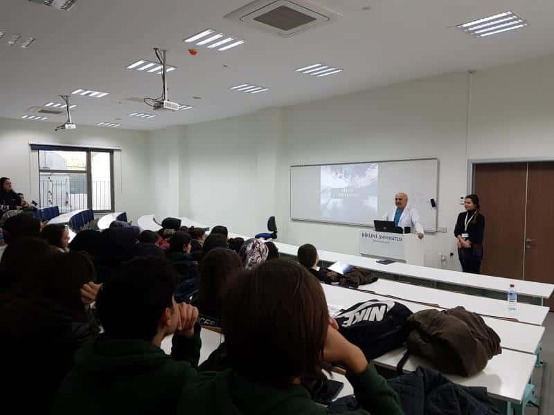 Biruni Üniversitesi ziyaretimiz