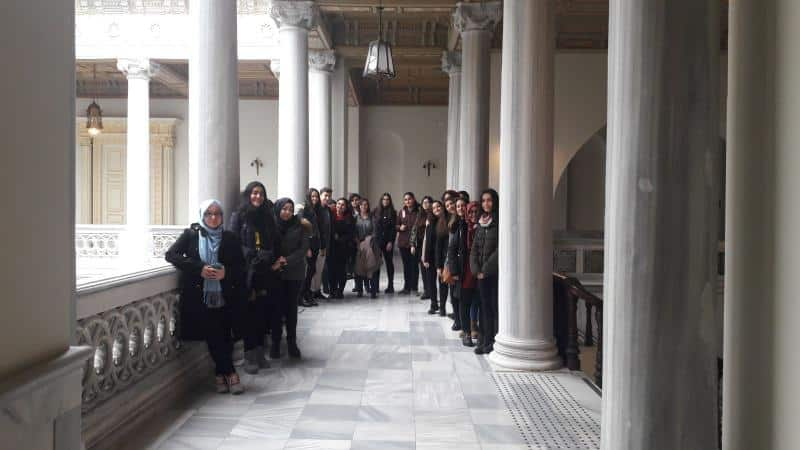 Öğrencilerimiz ile İstanbul Üniversitesini ziyaret ettik.