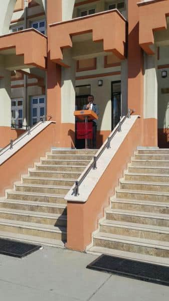 18 Mart Çanakkale Zaferimizin Yıl dönümü okulumuzda yapılan törenle anıldı.