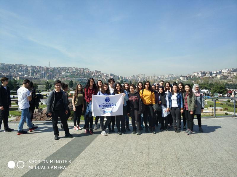 İstanbul Büyükşehir Belediyesinin düzenlediği Panorama 1453 Müzesi ve Miniatürk Gezisi öğrencilerimiz tarafından büyük ilgi gördü.