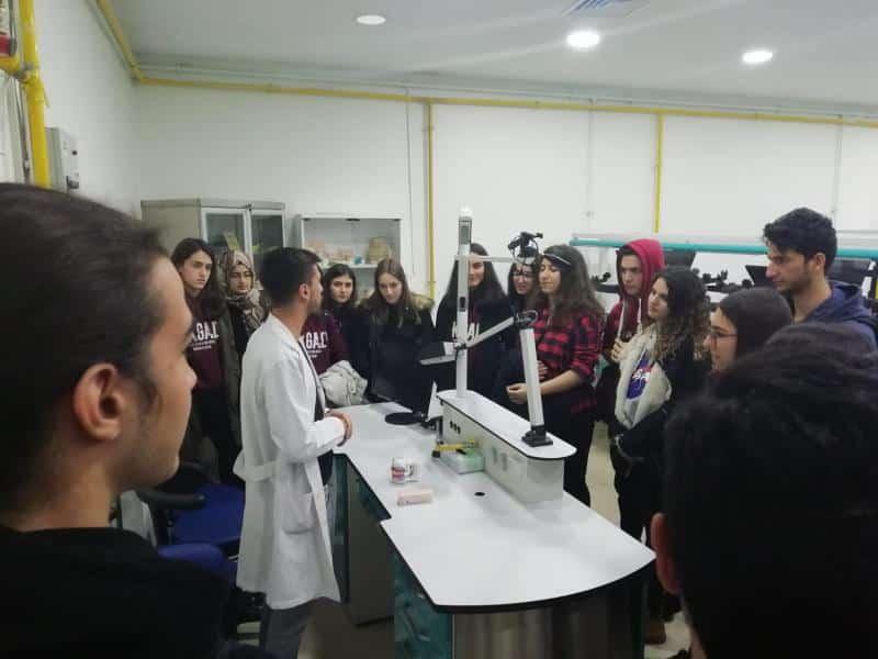 Biruni Üniversitesine öğrencilerimiz ilgi göstermiş bölümler hakkında bilgi edinmişlerdir.