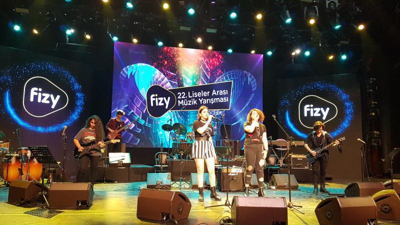 Fizy 22. Liseler Arası Müzik Yarışmasına Okulumuz Öğrencileri Katılmıştır. Gençlerimize başarılar dileriz.